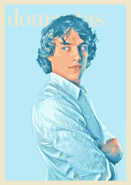 Domantas-Blue-poster